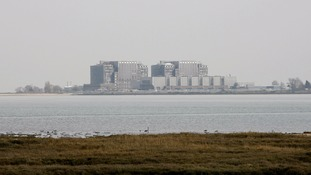 File photo of the former Bradwell nuclear power station in Bradwell-on-Sea in Essex.