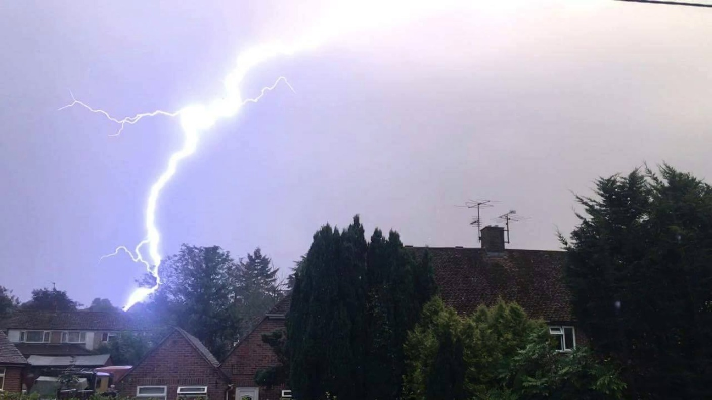 Lightning Causes House Fires Across The Region Meridian