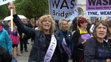 Women against 'state pension inequality' to protest