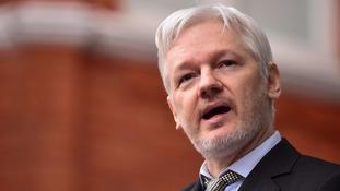 Julian Assange has claimed asylum in Ecuador through the country's embassy in Knightsbridge since 2012.