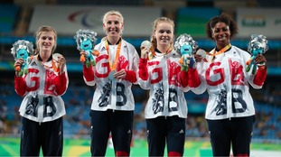 Kadeena Cox wins third medal on the track and fourth of the Paralympics