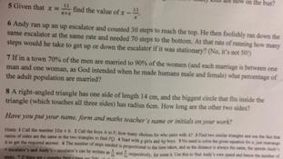 'Homophobic maths test' sparks outrage among pupils