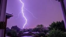 Dorset lightning