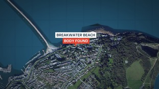 Body pulled from the sea in Devon