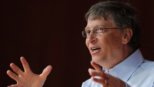 Microsoft founder, Bill Gates