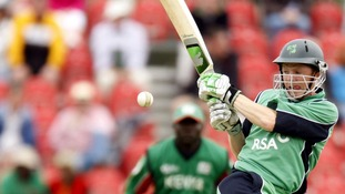 Ireland's Niall O'Brien on the move