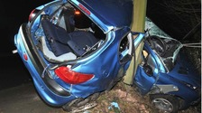 Young drivers jailed after A27 crash