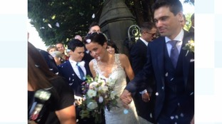 World Champion cyclist Lizzie Armitstead weds fiance Philip Deignan