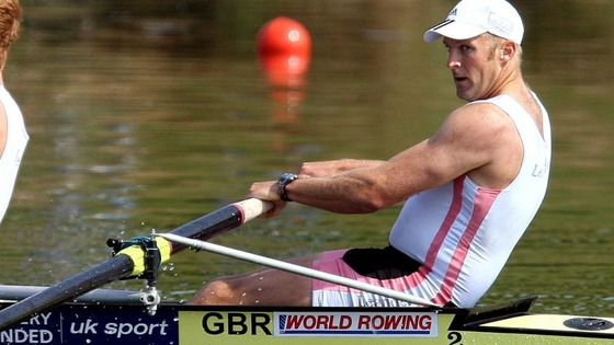 Olympic rower Alex Partridge