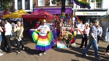 Carlisle gets colourful for Cumbria Pride