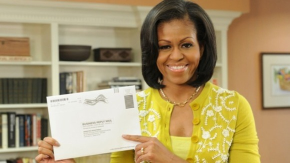 "US presidential elections: Michelle Obama tweeted that she ""couldn't wait for Election Day"""