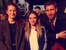 Calvin Harris returns to Dumfries as Best Man at friend's wedding