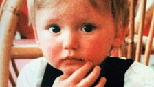 Ben Needham before his disappearance