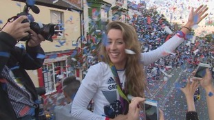 Flint celebrates double Olympic champion Jade Jones