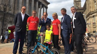 Star cyclists in Birmingham to launch 'Team HSBC'