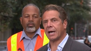 Governor Cuomo said whoever was responsible would be 'brought to justice, period'.