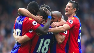 Premier League match report: Crystal Palace 4-1 Stoke City