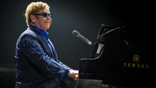Pop legend Elton John announces Widnes concert