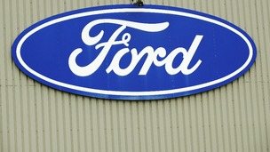Ford plant in Dagenham, Essex.