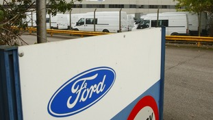 Ford Transit Assembly Plant in Southampton