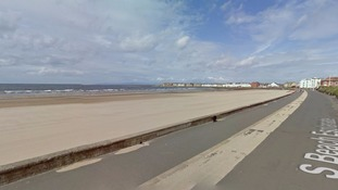 Troon beach Google Streetview