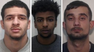 Three jailed for 34 years for raping 15-year-old girl