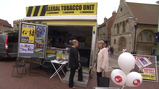 Members of the public can see Illegal Tobacco Unit sniffer dogs in action at a roadshow this week.