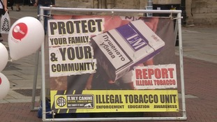 Young people are targeted by people who sell illegal cigarettes.