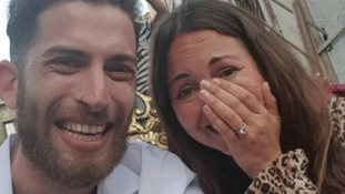 EastEnders star Lacey Turner gets engaged to childhood sweetheart