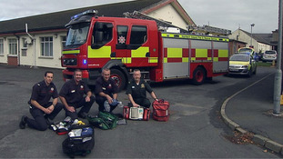Fire crews to support ambulance response to 999 calls in Lurgan