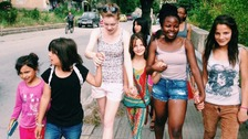 Young people from Solihull travelled to Bulgaria to support families from the Roma community