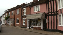 Lavenham was more houses built so there are affordable homes for younger people.