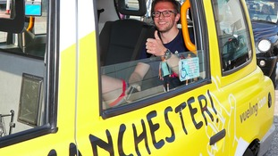 Kenny in cab
