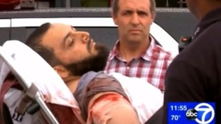 Ahmad Khan Rahami was wounded in a shootout with police in Linden, New Jersey.