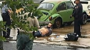 Ahmad Rahami was captured after a shootout with police in Linden, New Jersey.