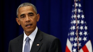 President Obama is in New York to attend the annual United Nations General Assembly.