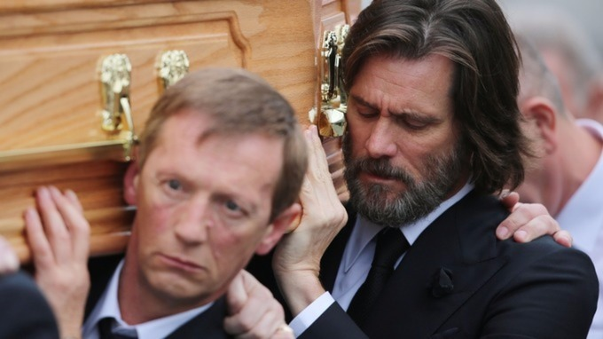 Jim Carrey was a pallbearer at Catriona White's funeral.