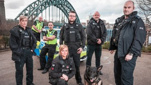 Officers from Northumbria Police are set to be the next stars of TV when a brand new access-all-areas documentary hits the small screen