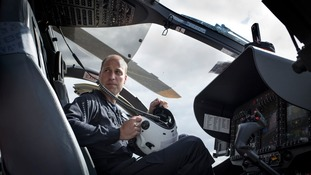 Prince William tells of 'sad, dark moments' as air ambulance pilot