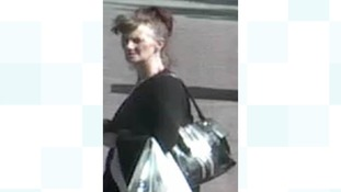 A woman police want to speak to after a robbery at Bedford Bus Station