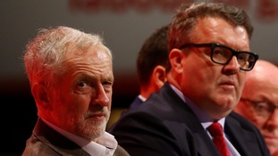 Tom Watson's proposals to ditch Labour's leadership election rules would not take effect until Jeremy Corbyn stood down.