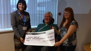 Fundraiser's mountain climb for West Cumberland Hospital