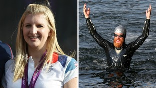 Olympian Rebecca Adlington and adventurer Sean Conwa