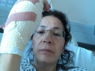 Fatima El-Tawil feared she was going to lose her hand