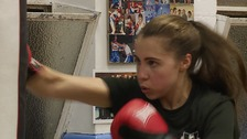 The Norfolk boxer hoping to follow in her Olympic idol's footsteps