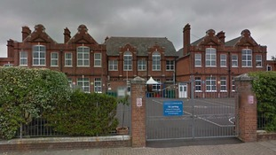 The incident happened near Lyndhurst Junior School in Portsmouth