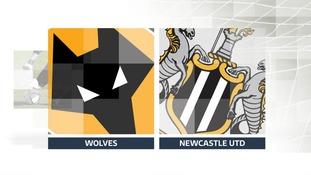 Wolves v Newcastle UTD