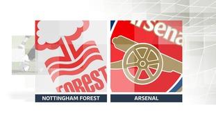 Nottingham Forest v Arsenal