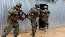 Somalian troops
