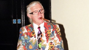 Jimmy Savile pictured in 1999